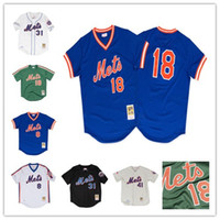Keith Hernandez Jersey de los Mets de New York masculino Darryl Strawberry Dwight Gooden Gary Carter Mike Piazza Camisetas de béisbol Tom Seaver