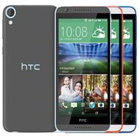 Recuperado HTC Original Desejo 820 Dual SIM 5.5 polegadas Octa Núcleo 2GB RAM 16GB 5pcs ROM 13MP câmera 4G LTE Desbloqueado inteligente Android Phone DHL