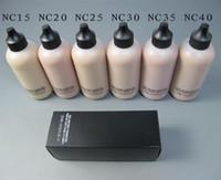 SıCAK Satış Makyaj Yüz Ve Vücut Vakfı FOND DE TEINT VISAGE ET KOLTUKLAR 120 ml ePacket nakliye