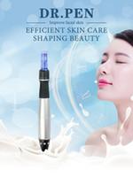 Nieuwste Automatische Elektrische Derma Pen Beauty Microneedle Roller 1357912243642 Nano Pins 5 Snelheidspiegels Oplaadbare Vibrerende Dr Pen