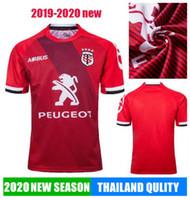 19 20 Toulouse Rugby Jerseys League Jersey National Team 2019 2020 Toulouse Rugby Jerseys الترفيه الرياضة Lentulus Shirts حار بيع الرياضة