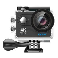 "Eken H9R عمل كاميرا فائقة الدقة 4 كيلو / 25fps wifi 2.0 ""170D تحت الماء للماء خوذة فيديو تسجيل كاميرات الرياضة كاميرا 10PCS"