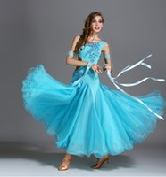 Sahne Giyim Standart Balo Salonu Dans Elbiseleri 2021 Varış Yüksek Kalite Waltz Dans Etek Yarışması Elbise