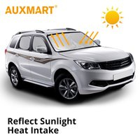Auxmart Silver Car Snow Sun Shade Cover Kits Protective Shie...