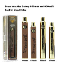 Penna della batteria della batteria del vape 650mAh 900mAh della batteria del vape 650mAh 900mAh Penna della batteria della sigaretta della tensione della tensione variabile per il serbatoio della cartuccia dell'olio spessore 510