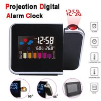 Time Watch Multi Function Digital Alarm Clocks Color Screen ...