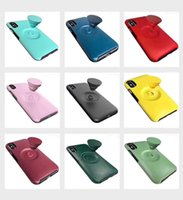 Candy Color Stand Holder Case For iPhone 11 Pro ProMax Simpl...