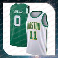 42c70d77f81 Wholesale jayson tatum jersey for sale - Group buy stitched Jayson Tatum  city jersey Kyrie swingman