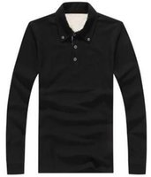 Leading New Men London Brit Casual Shirts Long Sleeve Solid ...