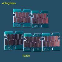 브랜드 일련 번호 엡손 surecolor T3270 T5270 T7270 잉크 카트리지 호환 최신 여분의 칩