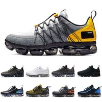 Nike Air vapormax Utility shoes Men Running Shoes Wolf Grey Anthracite Reflect Celestial Teal Runner mens trainers Sports Sneakers 40-45
