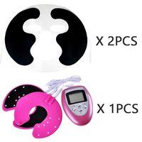 2 pzlotto faccia Tens Machine Facial elettrodi di bellezza per il viso con il cavo per il corpo pieno massaggiatore macchina di terapia di impulso pad