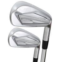 Novos clubes de golfe JPX 919 Ferros de golfe 3-9P Ferros Conjunto Golf eixo de aço e eixo de grafite R ou S clubes Definir Frete grátis