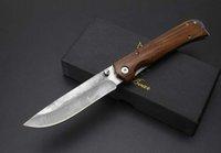 jabalí Busse hoja del cuchillo de caza de Damasco salvaje que acampan tácticos cuchillo cuchillos cuchillo de navidad regalo para hombre 1pcs Adul