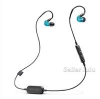 SE215 BT1 Bluetooth Kulaklık TWS Kablosuz Kulaklık DJ Mükemmel Ses oyun kulaklık Manyetik Duraklatma Fonksiyonu Spor