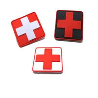 Brassard de sauvetage médical de secours de croix médicale époxyde de PVC 3D