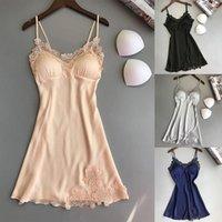 여성 잠옷 섹시한 실크 드레싱 Babydoll 레이스 란제리 벨트 목욕 가운 여자 섹스 나이트웨어 여성 목욕 가운