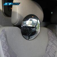 Freeshipping Seggiolino auto posteriore vista posteriore Specchio Baby sicurezza bambino con clip e ventosa Nuova auto monitor di spedizione