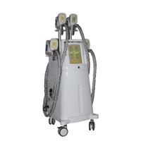 Máquina de belleza cryolipolysis cuatro piezas de mano cryolipolysis 1200w cuerpo adelgazante Máquina de reducción de grasa para perder peso