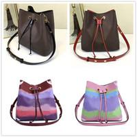 2020 نهاية عالية مصمم العلامة التجارية المرأة حقيبة صغيرة على الكتف اللون حقائب الكتف واسعة MINI ساحة حقيبة للمرأة محمولة رسول حقيبة دلو حقائب