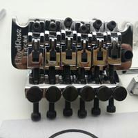 Rare Guitar Bridge BRTS1000 Sistema Tremolo Bridge Blocking Dado 42mm / 43mm Argento Made in Corea Disponibile