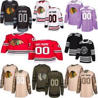 2019 News Chicago Blackhawks الهوكي قمصان متعددة أنماط رجالي مخصص أي اسم أي عدد من الفانيلة الهوكي