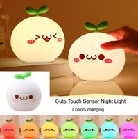 Rechargeable LED Night Light cute cartoon night Lamp 7 color...
