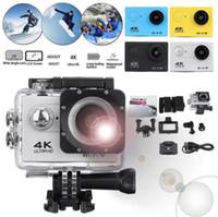 SJ9000 Action Camera الترا HD 4K 30M واي فاي 2.0 170D الشاشة 1080P تحت الماء للماء الرياضة كاميرا HD DVR DV الذهاب المتطرفة كاميرا الفيديو