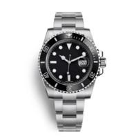 De haute qualité Montre 116610 Montre Homme Teel inoxydable Montre Mécanique Automatique Mode Simple Sport Style 40M imperméable Wristwatch