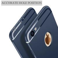 Lujo resistente a la suciedad ultra delgado a prueba de golpes de silicona suave caucho TPU mate cubierta de la caja del teléfono para Apple iPhone XS Max XS XR 10 8 7 6S Plus