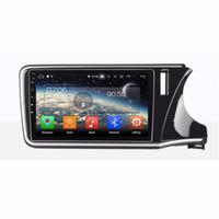 "2 din 10.1 ""Android 8.0 Android 8.1 Araba DVD Oynatıcı Honda CITY 2015-2018 için Araba Stereo Radyo GPS Bluetooth WIFI Ayna bağlantı"