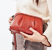Fashion casual leather women' s new cloud bag messenger ...