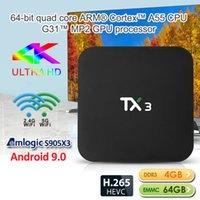TX3 Android 9. 0 TV Box S905X3 2GB 4GB Ram 16GB 32GB 64GB ROM...