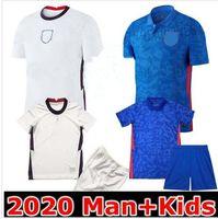 Homem e crianças 2020 Dele Futebol Jerseys Kane Rashford Vardy Jersey Lingard Sterling Sturlient Camisa de futebol