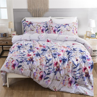 Country Style Floral Printed Bedding Suit Quilt Cover 3 Pics...