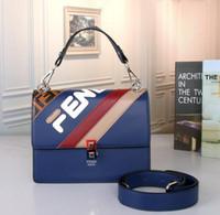 c10eff48c Nueva moda femenina bolsa de hombro colgada versátil simple bolso nombre  bolsa de mano bolso de