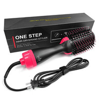 One Step Fön 3 in1 Volumizer Bürste Haar, Lockenwickler Salon Elektro-Heißluft-Lockenstab Comb Styling Werkzeuge