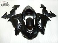 Gratis Custom Chinese Backings voor Kawasaki Ninja ZX10R 2006 2007 Matte Black Motorcycle Fairing Carrosserie ZX-10R 06 07 ZX 10R