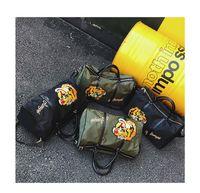 أزياء للجنسين حقائب السفر الشاطئ القماش الخشن حقيبة الكتف حقائب سعة كبيرة اللياقة البدنية الصالة الرياضية ممارسة اليوغا أكياس أكياس السخافات
