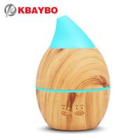 KBAYBO الروائح رائحة الهواء المرطب من الضروري النفط الناشر بالموجات فوق الصوتية ميست صانع الكهربائية العبير الناشر مبيد الرئيسية النوم