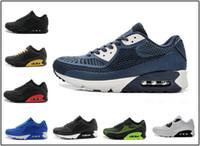 competitive price 4d031 d9d27 Nike air max airmax 90 Hombres y mujeres Zapatillas de correr Negro Rojo  Blanco Entrenador deportivo