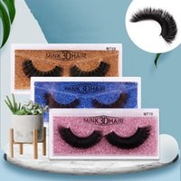 New Real 3D Mink Eyelashes Mink Lashes False Eyelashes 100% ...