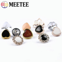 Meetee 100pcs Sewing Decoration Accessories 10mm- 15mm Plasti...
