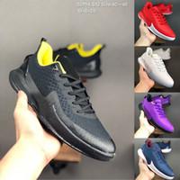 رخيصة AD EP يوم مامبا عدد 24 8 مامبا التركيز EP الرجال أحذية كرة السلة وولف رمادي برتقالي لالسوداء رجل مدرب احذية رياضية