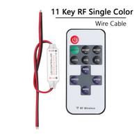 Dimmer 12V Mini 11Key RF mando a distancia sin hilos para el 3528 LED