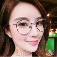 Anti- blue Spectacles Anti- radiation Glasses Female Without D...