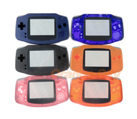 ل Gameboy Advance لـ GBA Games Console Replacement Shell Housing مع شاشة لاصقة