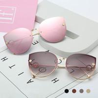 2020 Новые Cat Eye Солнцезащитные очки водителя Очки защитные моды Big Box Женщины Солнцезащитные очки Леди Ocean очки Sexy Оттенки UV400