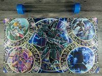 Deck Magician Dark Yugioh Regra 4 Card Link Zonas TCG Playmat Mat Melhor Tubo