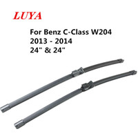 "Luya essuie-lame en essuie-glace voiture pour Mercedes Benz Classe C W204 (2013-2014) Taille: 24"" 24"""